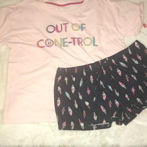 Ice Cream Pajama Set